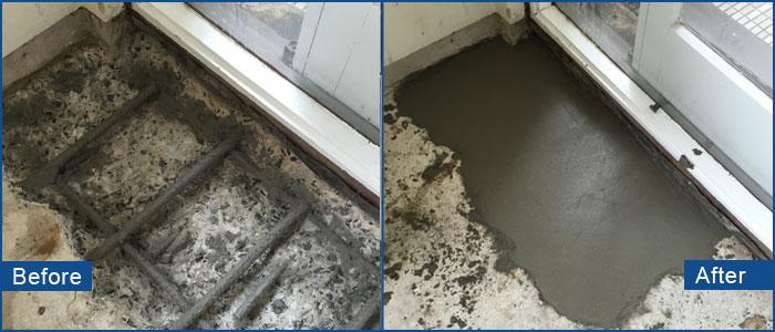 concrete spalling repairs sydney